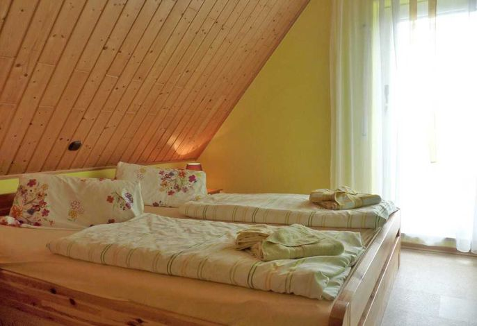 Elternschlafzimmer Ferienwohnung Honigtopf