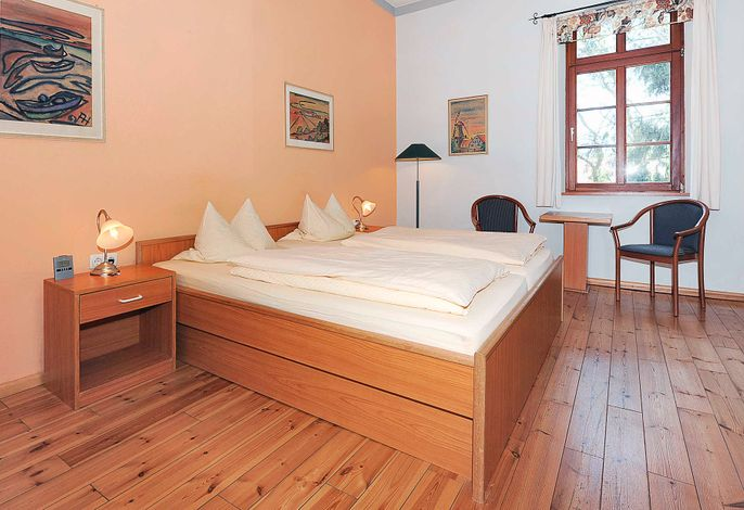 Doppelzimmer Typ A in der Pension Altes Posthaus in Dangast