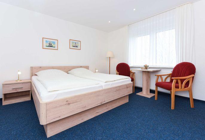 Doppelzimmer in der Hotel-Pension Marlies