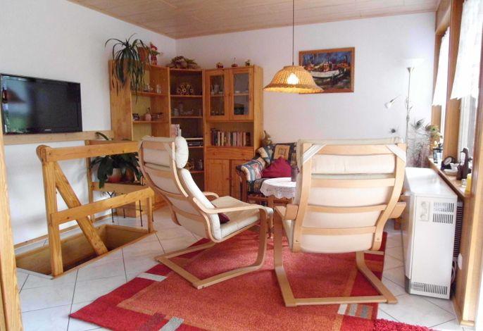 Wohnzimmer Ferienhaus Hau?