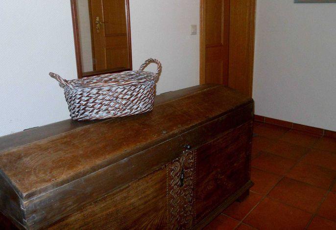 Eingangsbereich in die Wohnung