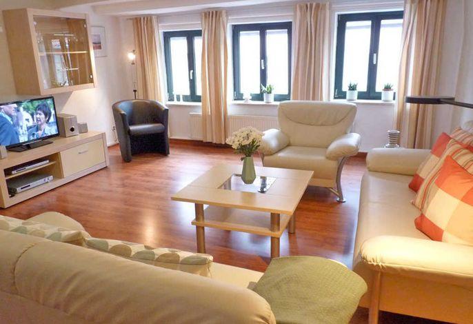 Wohnbereich Ferienwohnung Modeduo