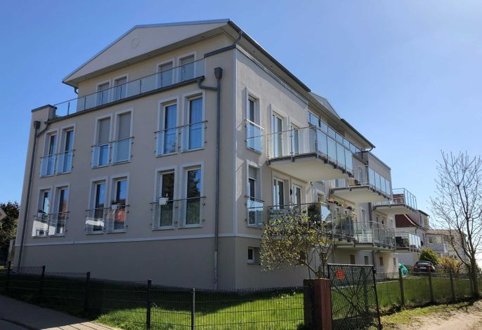 Sassnitz - Meerblickappartement Liegeplatz - RZV
