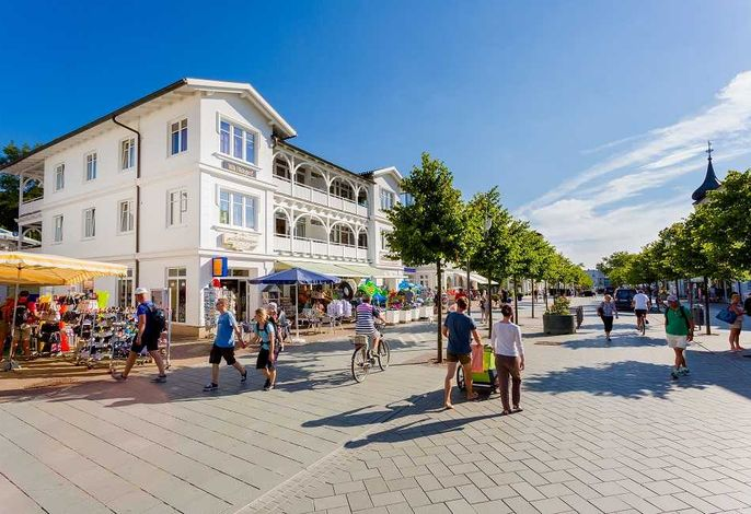 Villa Hildegard-Strandnähe-Terasse-im Zentrum von Binz/4
