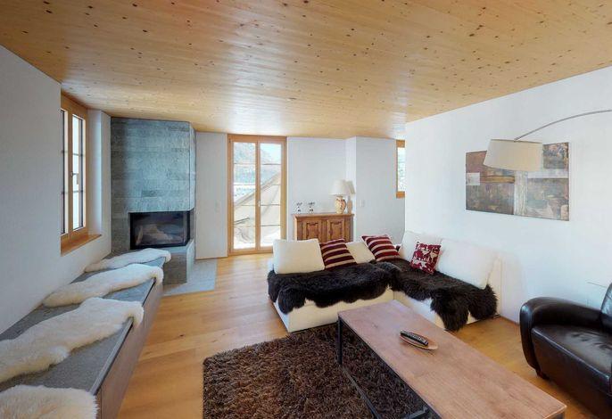 Apartment La Posta Dach-Maisonette-Wohnung