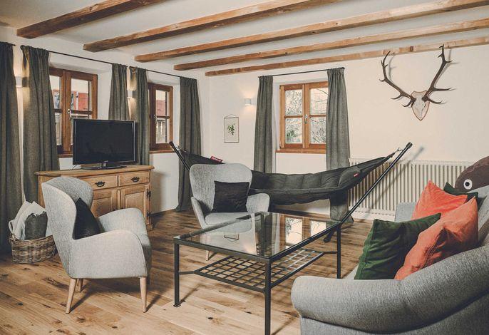 Unser Vierzimmer-Apartment Platzhirsch