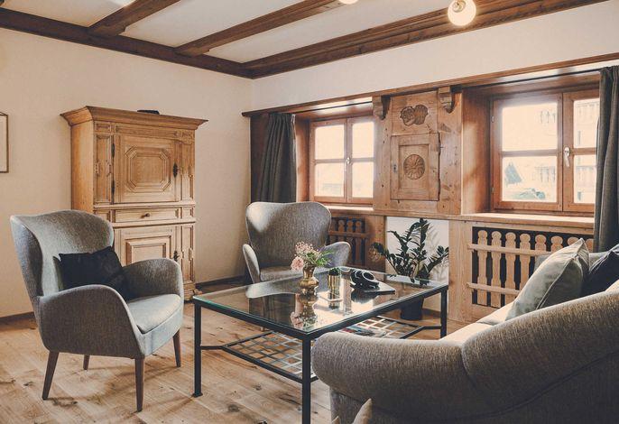 Unser Dreizimmer-Apartment Hochsitz