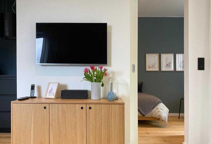 Großer LCD TV
