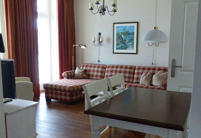 Wohn-/Eßbereich Appartement Strandperle