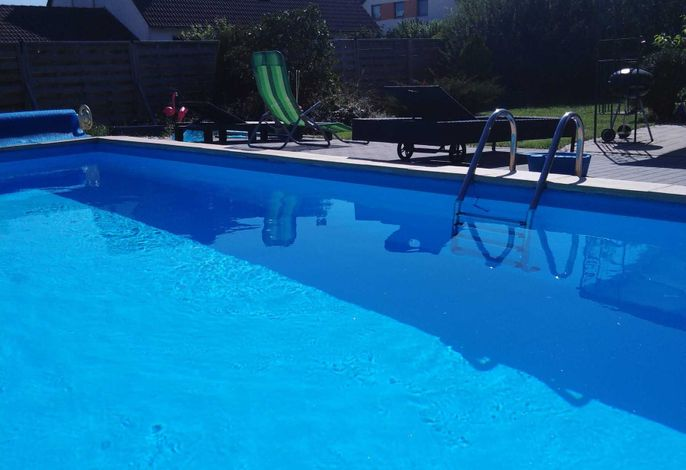 Moderne Fewo mit Pool am Brombachsee - Wellnessoase