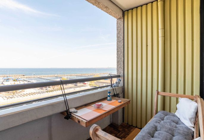 Ferienwohnung Weitblick Balkon