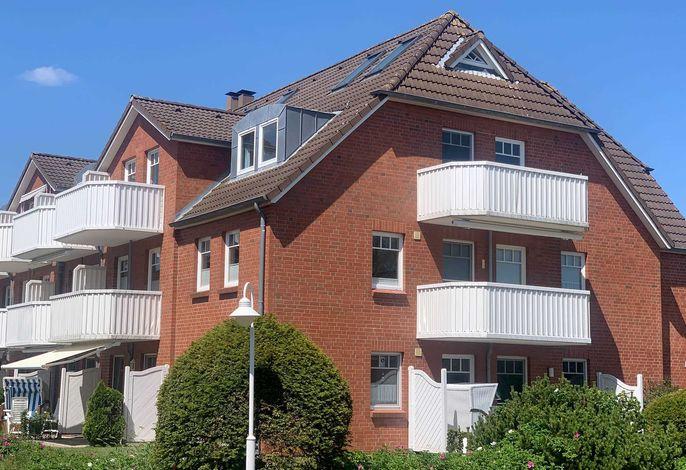 Schöne ,helle, ruhig gelegene Obergeschosswohnung mit 2 Schlafzimmern in St. Peter Böhl: Zum Leuchtturm 10 Wohnung 12