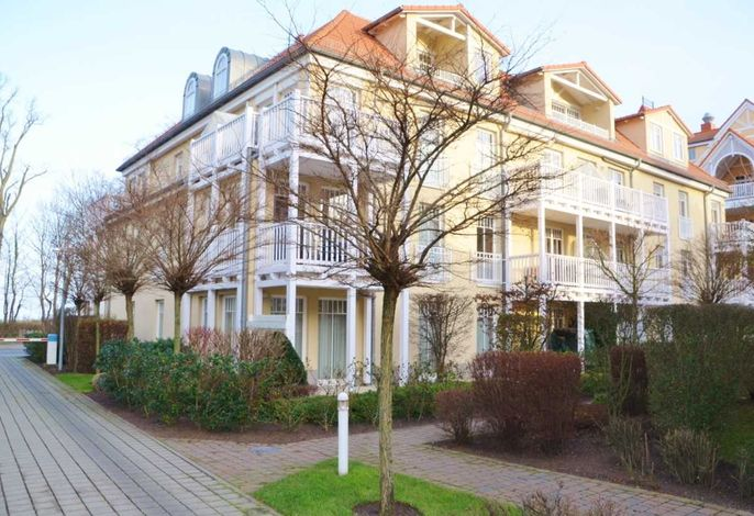 Appartementanlage Dünenschloss Haus 2 Fewo 4