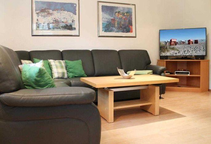 Seebach Whg. S02 - Blick auf den Wohnbereich