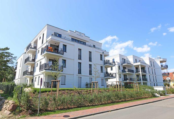 MZ: Villa Düne Whg. 42 Baaber Strand mit Terrasse & Sauna