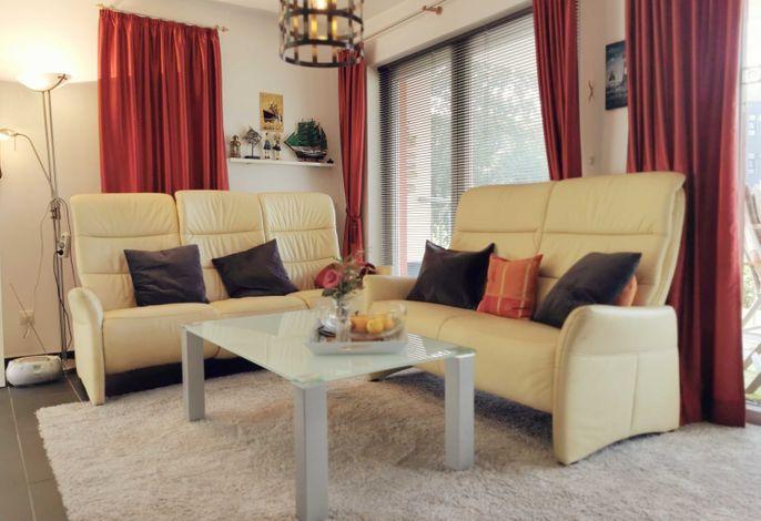 Wohnbereich mit Stressless Sofa