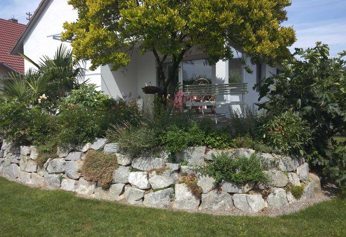 Garten mit Blick zur Terrasse