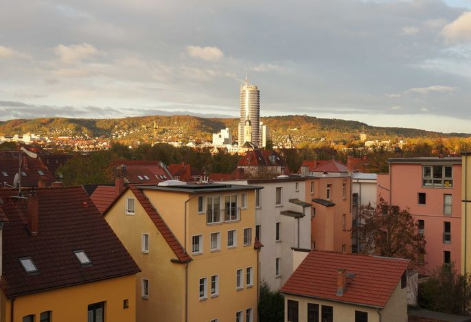 Apartment Skyline of Jena, luxuriös, einzigartig, free Wifi,