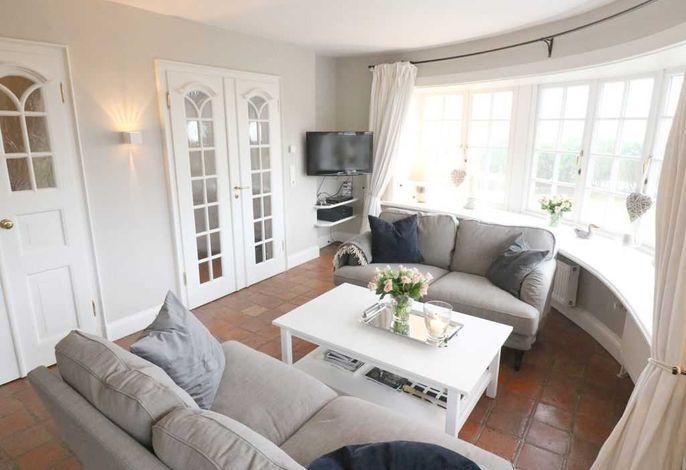 Wohnzimmer mit Meerblick EG