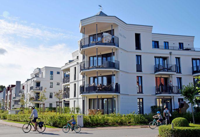 Ferienwohnung Vier Jahreszeiten mit Meerblick und Balkon