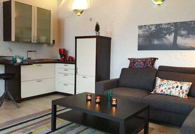 Wohnbereich/Küche App. Toni