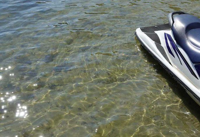 Feriendorf Silz im Kiefernwald mit eigenem Strandzugang