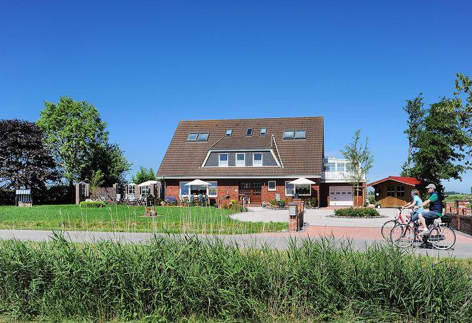 Ferienwohnung Landblick im Landhaus am Grafthof in N'siel