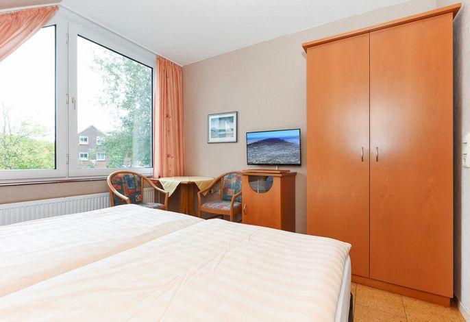 Doppelzimmer Uferschnepfe in der Hotel-Pension Altes Siel