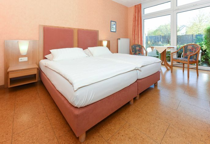 Doppelzimmer Knurrhahn, Hotel-Pension Altes Siel