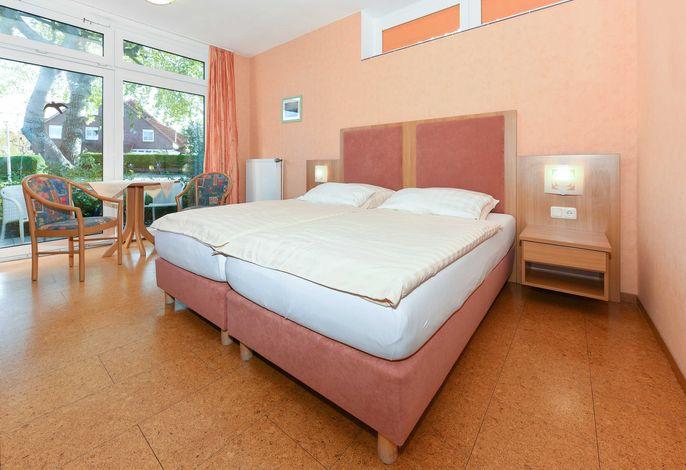 Doppelzimmer Seezunge, Hotel-Pension Altes Siel