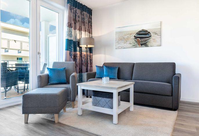Wohn-/Essbereich mit Doppelschlafcouch