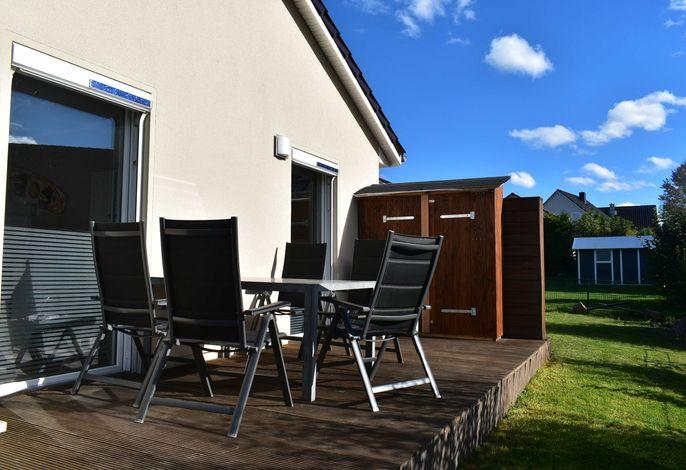 Moin - Ferienwohnung mit Terrasse