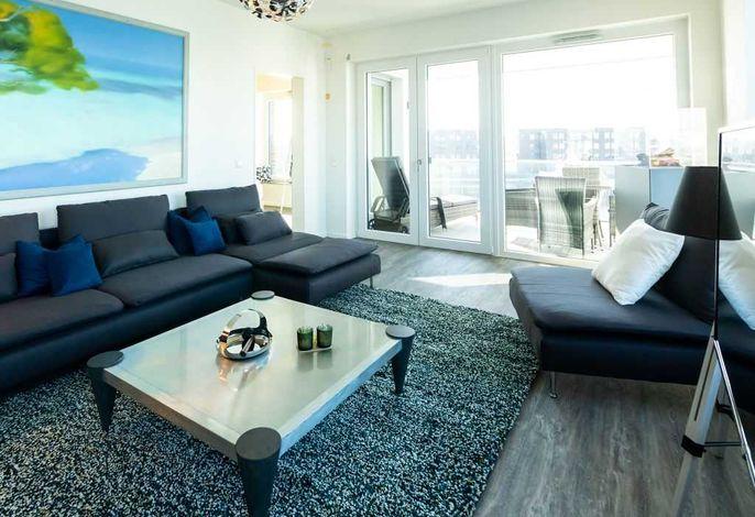 Hafenspitze App.3.29- heller Wohnbereich
