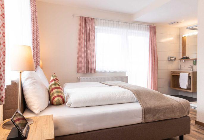 Schlafzimmer 2 Familienappartement Hochzeiger 201