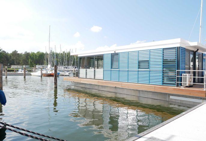 WELL Hausboote auf Usedom mit Kamin und 2 SZ #07