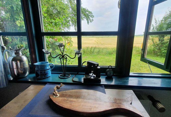 Blick aus den Küchenfenstern - Suchtpotential Weitblick