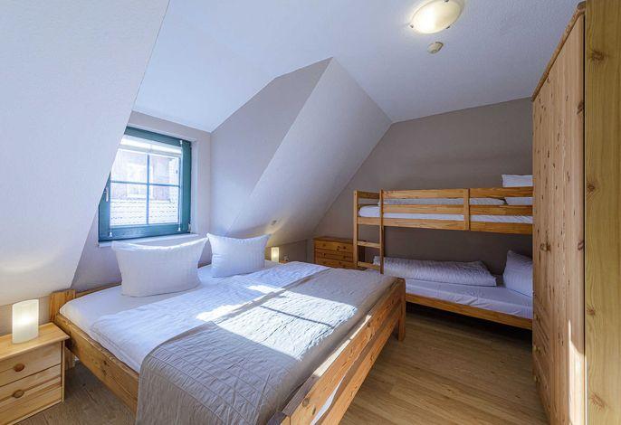 Schlafzimmer für 2-4 Personen