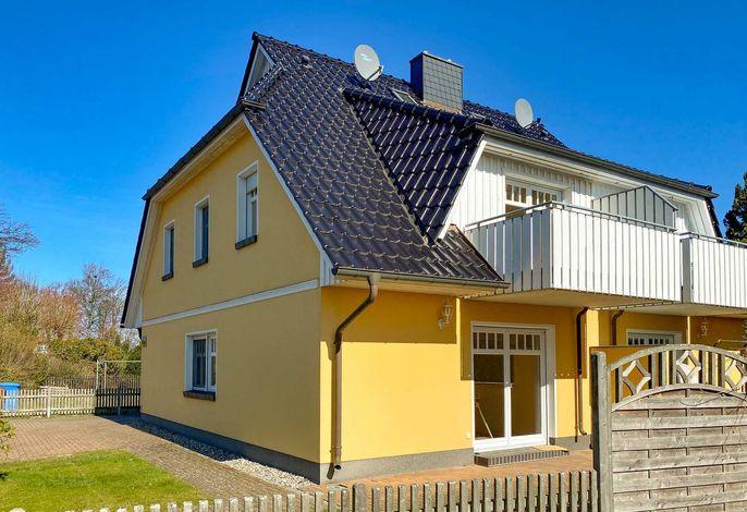 Gartenseite Ferienhaus Gotland, Zingst