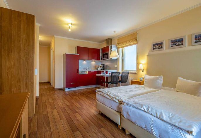 gemütliches Ein- Zimmer- Appartement mit Küchenzeile
