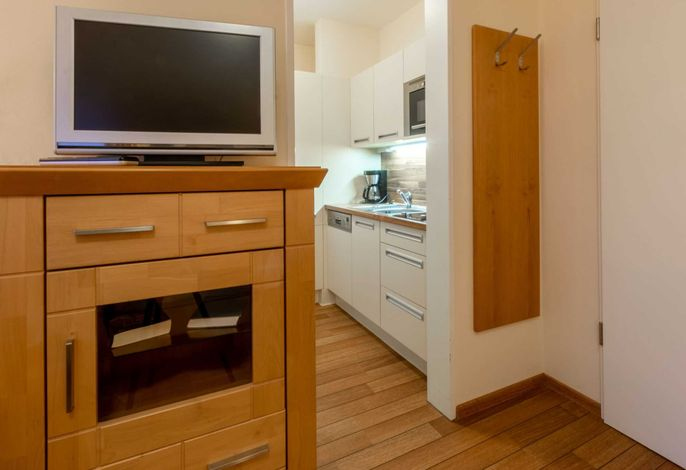 kleines aber feines Appartement mit seperater Küchenzeile