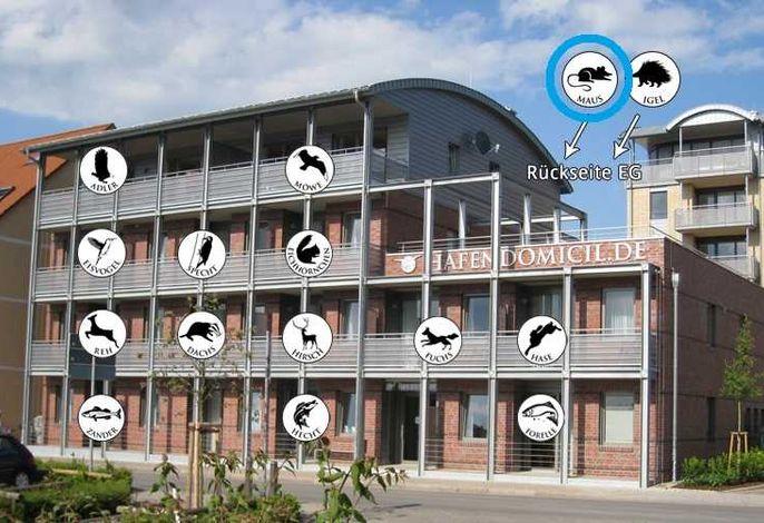 Hafendomicil Appartement WH04 - Igel