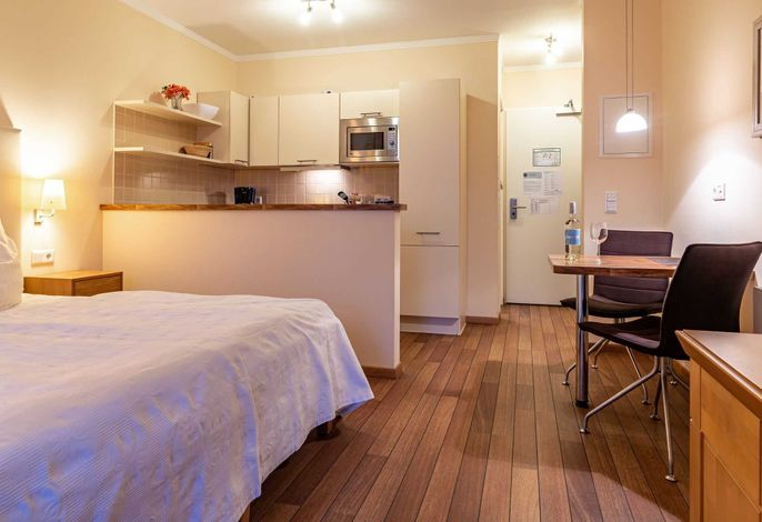 gemütliches ein Zimmer Appartement mit Küchenzeile