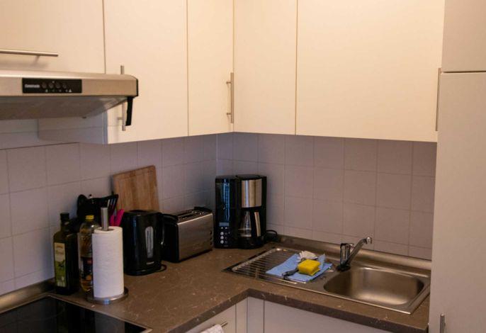 Voll ausgestattet Küche für gemeinsame Kochabende