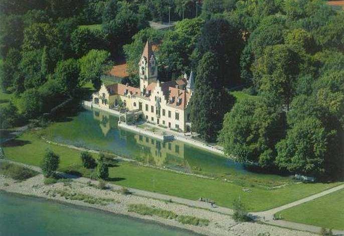 Schlossgartenhaus am Bodensee - Das Anwesen aus der Vogelperspektive