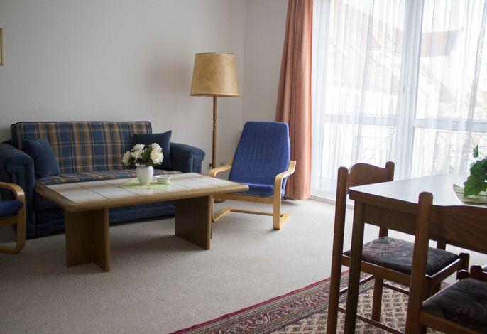 Wohnbereich mit Schlafsofa - Beispiel