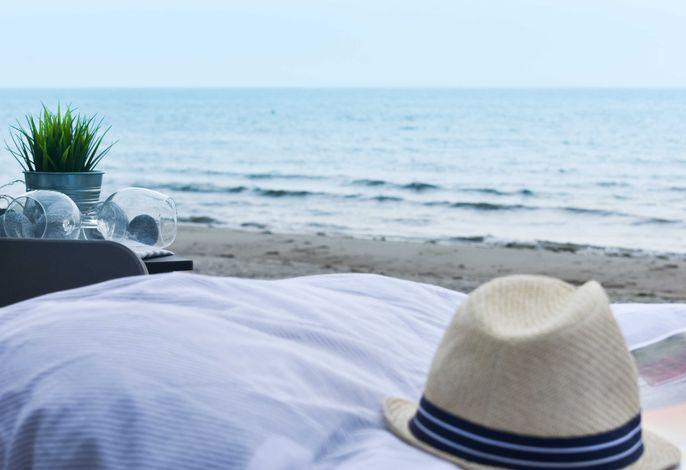 Strandschlafen in Golsmaas