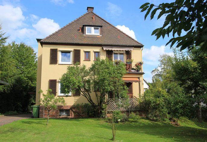 Haus Victoria von der Gartenseite aus gesehen