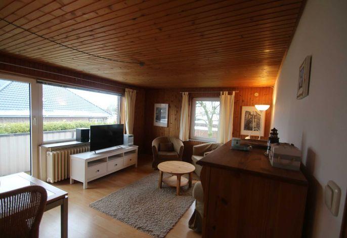 Wohnzimmer mit Balkon  im OG