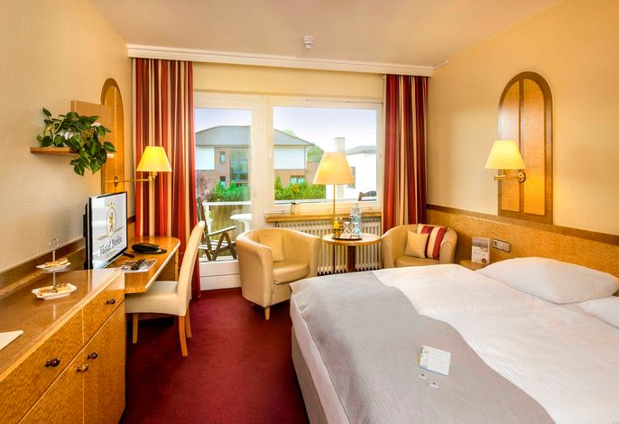 Komfort Doppelzimmer mit Südbalkon