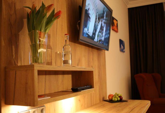 Hotel Sonnenhügel - Komfort Einzelzimmer mit Südbalkon
